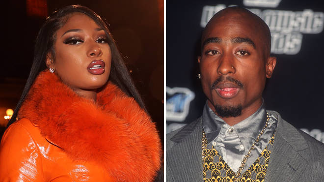 Megan Thee Stallion compares herself to Tupac