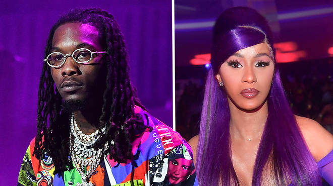 "Offset has responded to allegations that he is ""cheating on Cardi B"""
