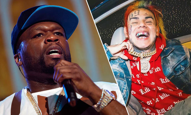50 Cent and Tekashi 6ix9ine.