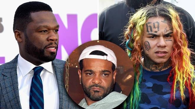 50 Cent throws shots at Jim Jones while reacting to Tekashi 6ix9ine prison release news