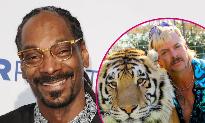 Snoop Dogg becomes Joe Exotic on Instagram