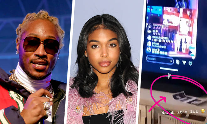 Lori Harvey sparks Future pregnancy rumours with baby scan