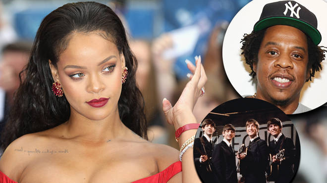 Rihanna passes Jay-Z and The Beatles with musical milestone in chart history
