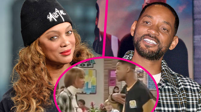 Will Smith & Tyra Banks relive iconic Fresh Prince of Bel Air moment
