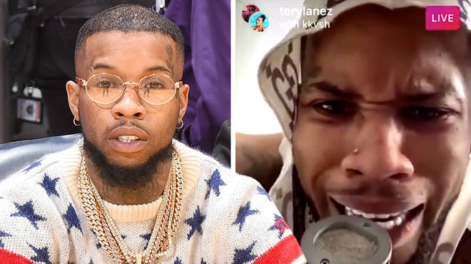 "Tory Lanez IG Live gets suspended after wild encounters on ""Quarantine Radio"""