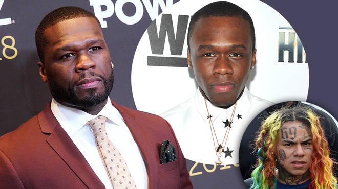 50 Cent says he would choose Tekashi 6ix9ine over his son