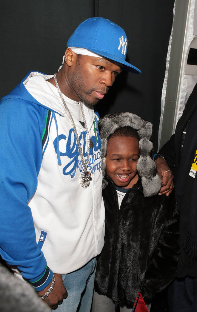50 Cent and Marquise in 2007