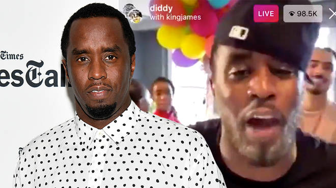 Diddy raises money on IG Live for coronavirus relief