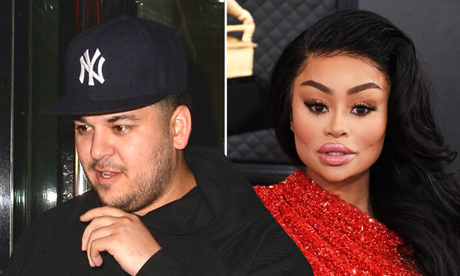 Rob Kardashian claims ex Blac Chyna threatened him with a gun.