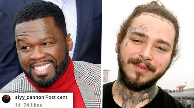 50 Cent turns into Post Malone with hilarious meme