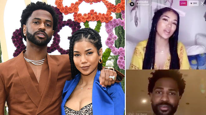 Big Sean talks marriage with Jhene Aiko on Instagram Live