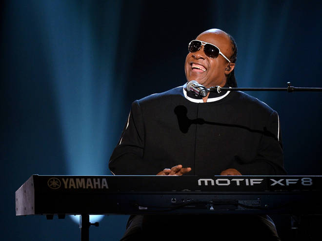 Stevie Wonder performed at the 'One World: Together At Home' concert