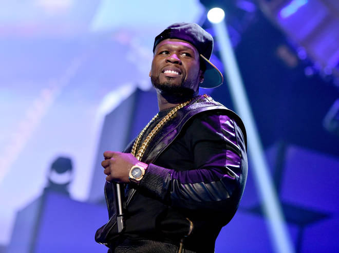 Recording artist Curtis '50 Cent' Jackson of the music group G-Unit performs onstage during the 2014 iHeartRadio Music Festival at the MGM Grand Garden Arena on September 20, 2014 in Las Vegas, Nevada.