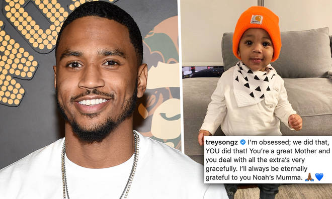 Trey Songz reveals his baby mama for the first time ever