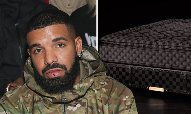 Drake owns a rare mattress by Swedish luxury bed maker Hästens.