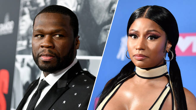 50 Cent attends the premiere of STX Films' 'Den of Thieves'/Nicki Minaj attends the 2018 MTV Video Music Awards.