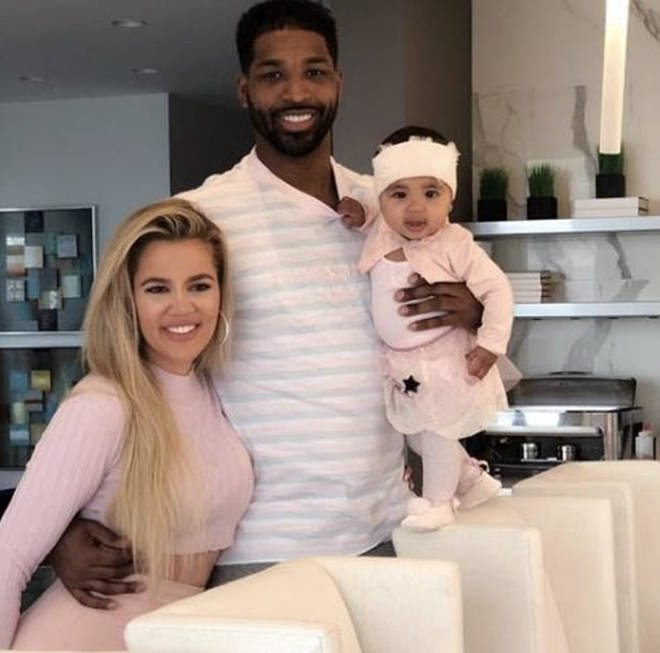 Khloe and Tristan share two-year-old daughter True, who was born in April 2018.