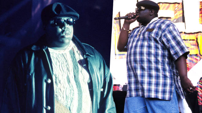 Rapper Biggie shows off his rapping skills in unheard verse