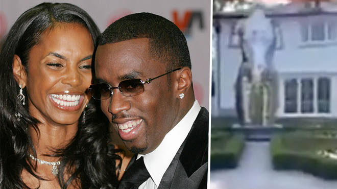 Diddy shows his fans his Kim Porter monument