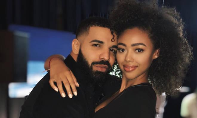 Drake and model Bella B Harris.