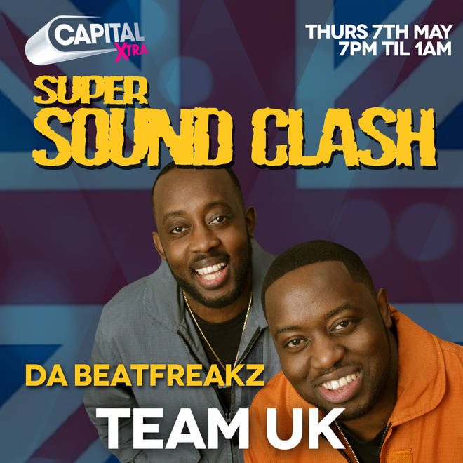 Da Beatfreakz are the guest DJs for Team UK in the #SuperSoundClash