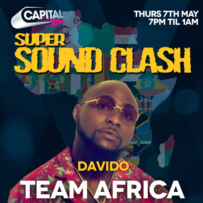 Davido will be the guest DJ for Team Africa in the #SuperSoundClash