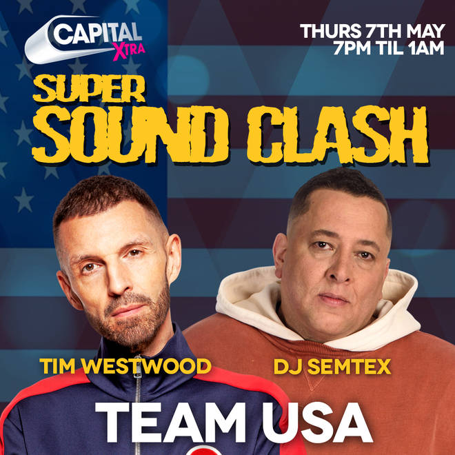 Team USA is represented by DJ Semtex and Tim Westwood
