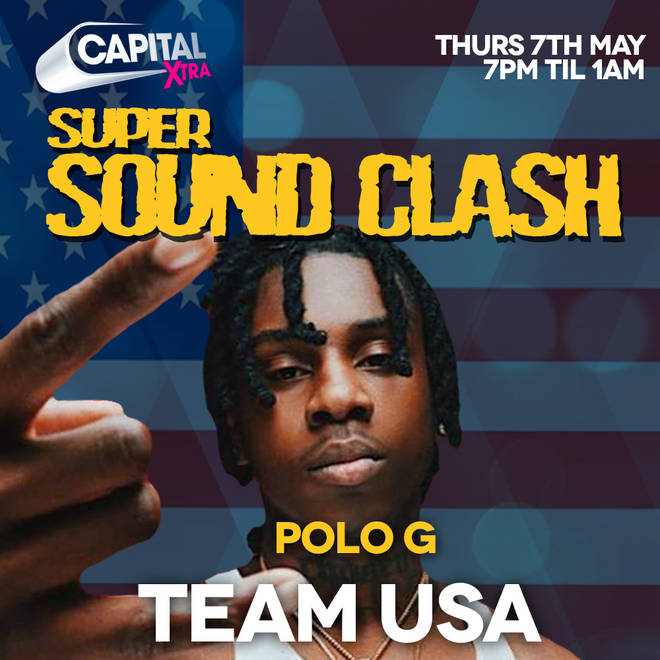 Polo G will be the guest DJ for Team USA in the #SuperSoundClash