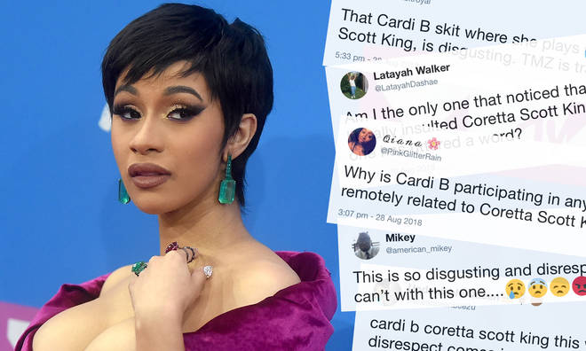 "Cardi B Responds After ""Disgusting"" Martin Luther King"