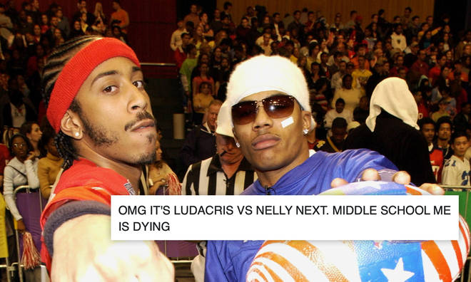 Ludacris and Nelly are about to battle it out on Instagram Live.