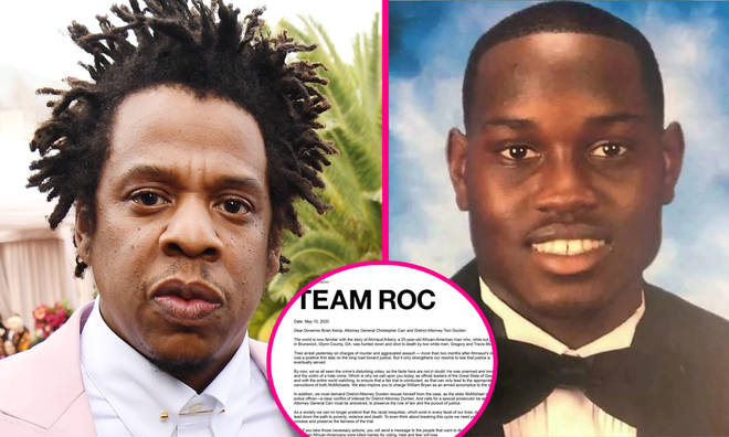 Jay Z, Meek Mill and more send open letter calling for convictions in the Ahmaud Arbery murder case