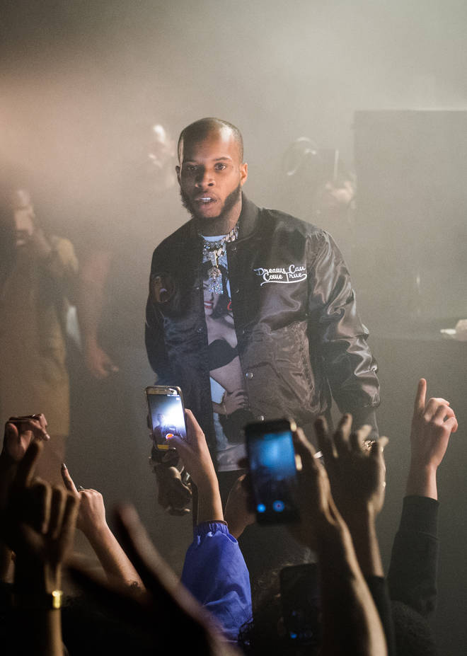 Tory Lanez had no hair back in March 2018