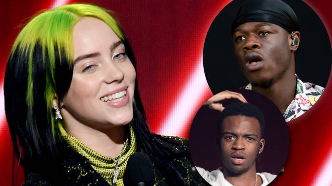 Billie Eilish reveals her favourite J Hus and Not3s songs