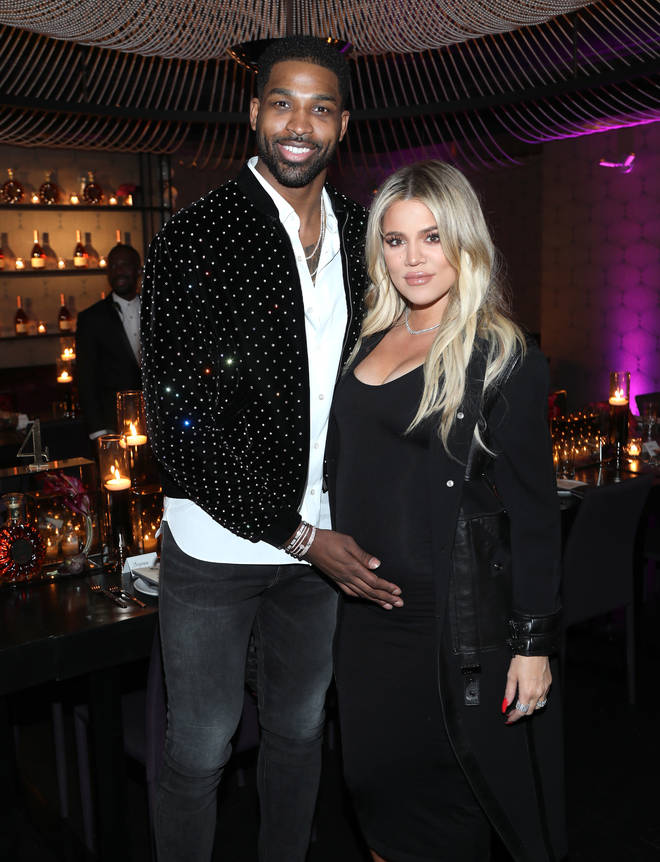 Khloe and Tristan welcomed their daughter True, 2, in April 2018.