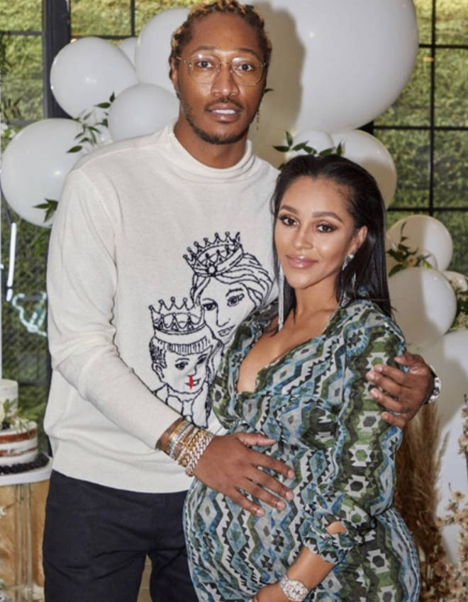 Future and Joie share a son, Hendrix, and appear to co-parent harmoniously.