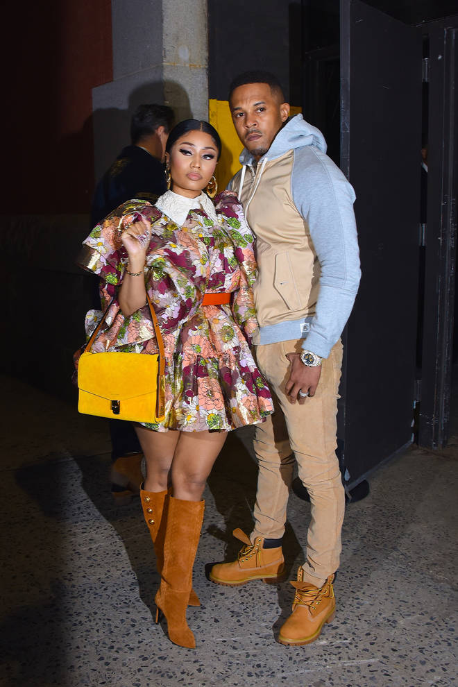 Minaj married her childhood sweetheart Kenneth 'Zoo' Petty last October after just over a year of dating.
