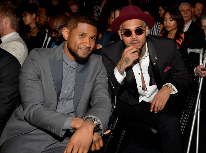 Chris Brown and Usher could be set to battle on Instagram Live
