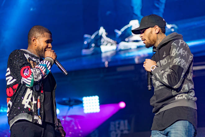 Chris Brown and Usher could break the internet with an Instagram Live clash