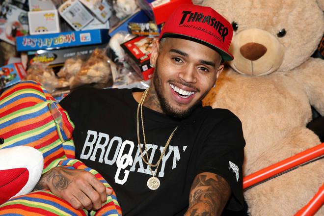 Chris Brown declares his love for 'girlfriend' Ammika Harris