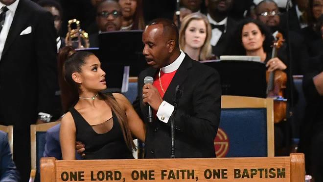 Ariana Grande & Bishop Charles Ellis