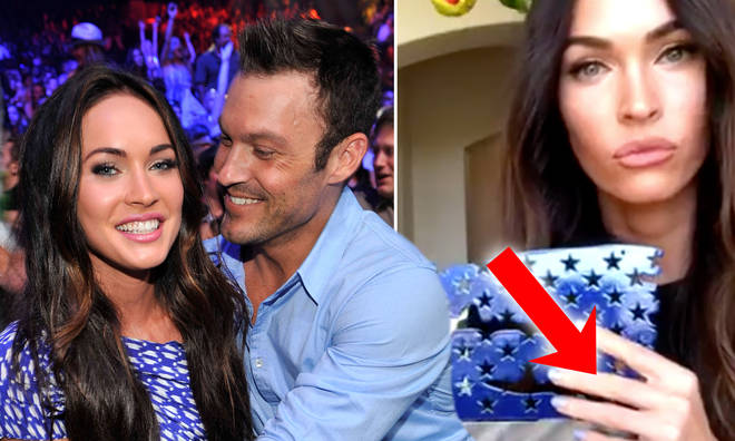 Megna Fox was spotted without her wedding ring in a recent video.