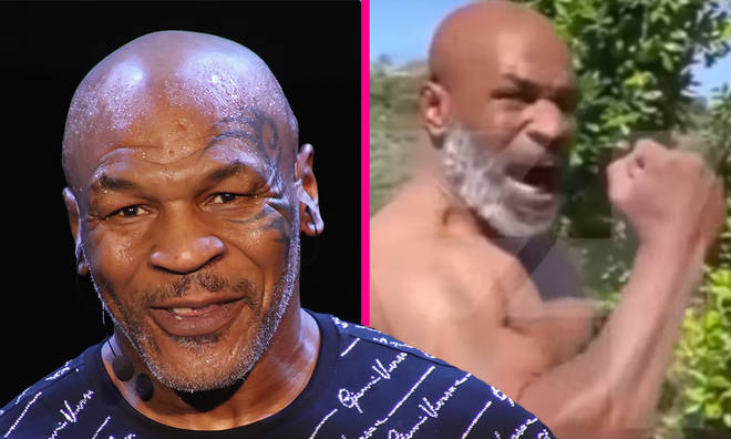 Mike Tyson address Shannon Briggs fight and shows off new boxing body