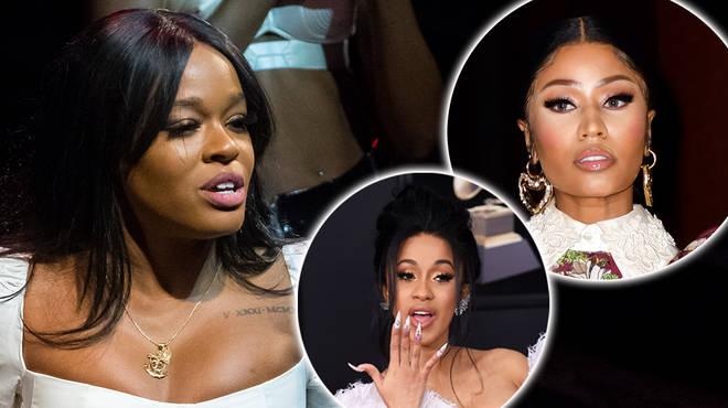 Azealia Banks claims Nicki Minaj is jealous of Cardi B