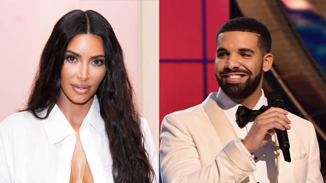 Kim Kardashian and Drake