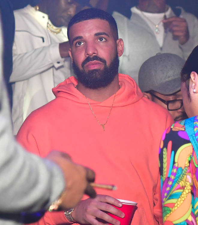 Drake quickly apologised after the song was accidentally played during an Instagram Live.