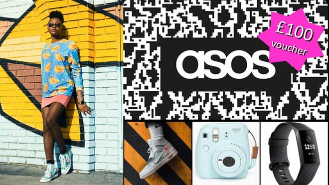 Wina an ASOS voucher with Capital XTRA
