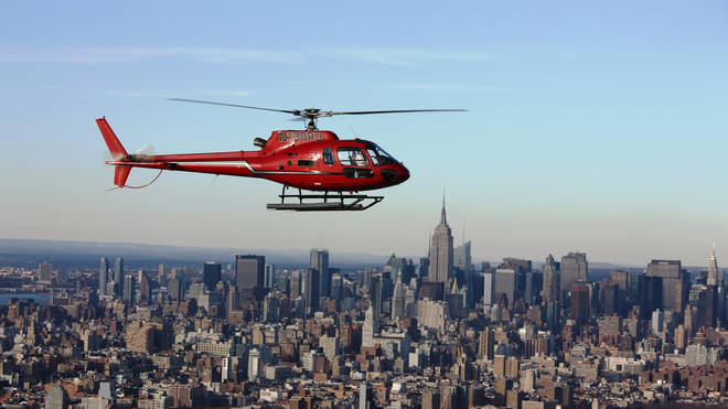 New York City helicopter ride.