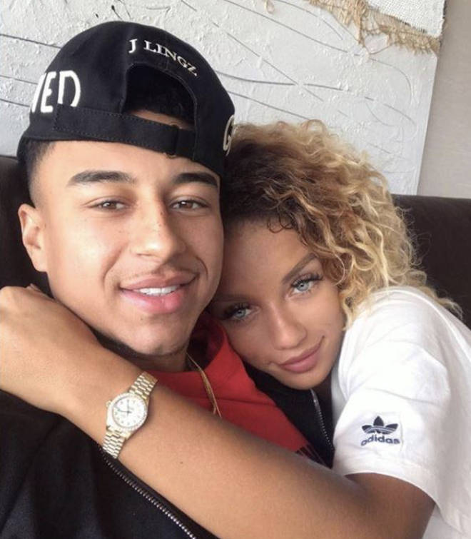 Jena Frumes dated Manchester United footballer Jesse Lingard until March 2018.