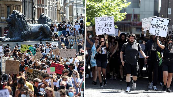 Black Lives Matter protests in U.K