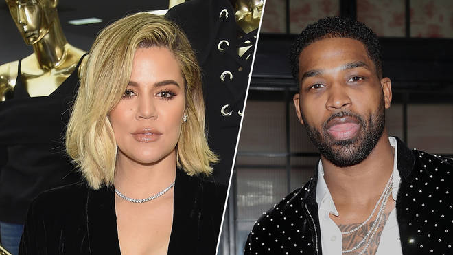 Khloe Kardashian celebrates the launch of Good American/Tristan Thompson attends Viewing Party presented by Remy Martin.
